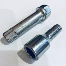 Аксессуары Болты 14х1,5 конус L28 цинк под ключ внутренний 10-гранник  (Италия)
