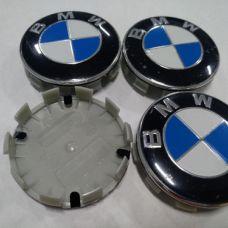 Аксессуары Колпачок в диск BMW 56мм синий+белый