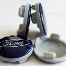 Аксессуары Колпачок в диск Ford (54/50) синие 6M211003AA