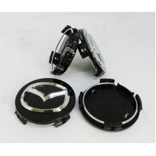 Аксессуары Колпачек в диск Mazda (57/57) Черные 2477