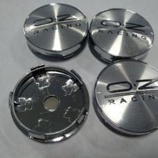 Аксессуары Колпачок в диск OZ 58/56мм xром+черный