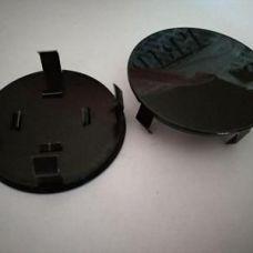 Аксессуары Колпачок в диск универсальный черный (метал+пластм) 45мм