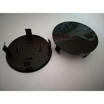Аксессуары Колпак в диск универсальный черный (металл+пластмас) 68мм