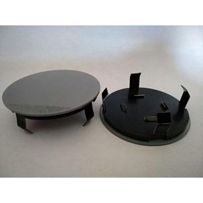 Аксессуары Колпак в диск универсальный серый (металл+пластмас) 57мм