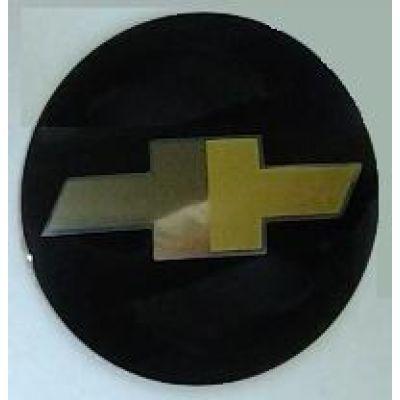 Аксессуары Наклейка на диск Chevrolet 57 выпуклый черный