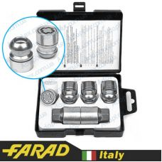 Аксессуары Секретные гайки 12х1,5 L30мм Cфера Вращающееся кольцо Farad Starlock Honda (2 keys)