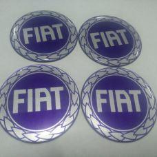Аксессуары Наклейка на диск FIAT синяя 55мм