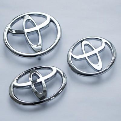 Аксессуары Шильдики Toyota