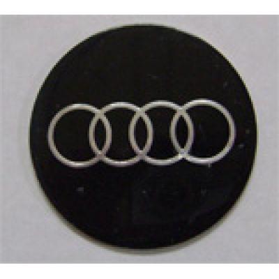 Аксессуары Наклейка на диск Audi 56 плоский черный