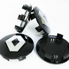 Аксессуары Колпачки на диски Renault (57/50) 8200043899 Черные