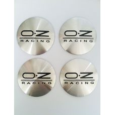 Аксессуары Наклейки OZ D56 мм (Черный логотип на серебристом фоне)
