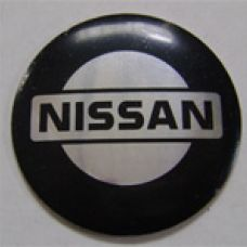 Аксессуары Наклейка на диск Nissan 58 выпуклый