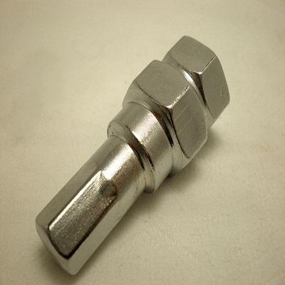 Аксессуары Переходник внутренний шестигранник L60мм хром под 19,21 ключ