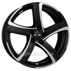 Диски R18 5x114,3 Alutec Shark 8x18 5x114,3 ET52 DIA67,1 (racing black front polished)
