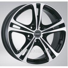 Диски Borbet XL 8x18 5x110 ET40 DIA72,6 (black front polished)