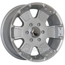 Диски R17 6x139,7 Mi-tech MK-41 8x17 6x139,7 ET12 DIA106,1 (silver)