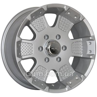 Диски Mi-tech MK-41 8x17 6x139,7 ET12 DIA106,1 (silver)