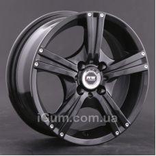 Диски Racing Wheels H-326 6,5x15 5x120 ET40 DIA72,6 (BKFP)