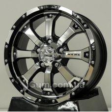 Диски R17 6x139,7 Mi-tech MK-46 8x17 6x139,7 ET25 DIA106,1 (silver)