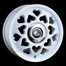 Диски R14 4x100 Darwin M188 6x14 4x100 ET38 DIA73,1 (white)