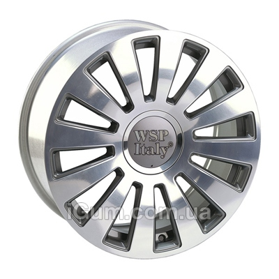 Диски WSP Italy Audi (W535) A8 Ramses 8x20 5x100/112 ET45 DIA57,1 (anthracite polished)