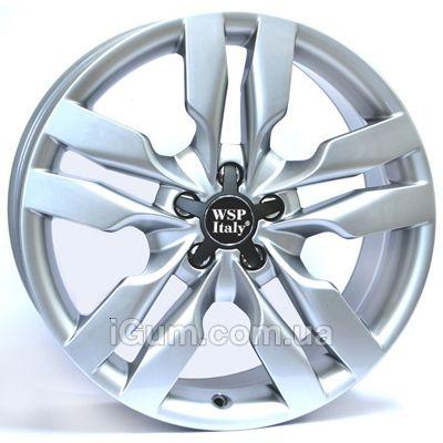 Диски WSP Italy Audi (W552) S6 Michele 8x18 5x112 ET45 DIA57,1 (silver)