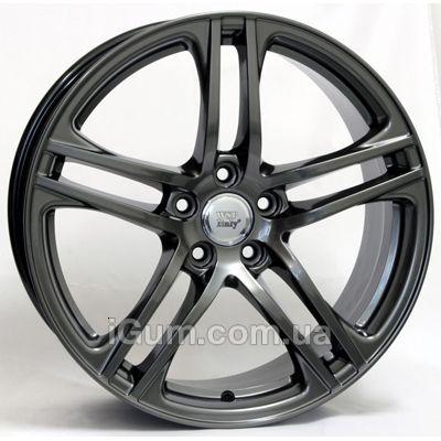 Диски WSP Italy Audi (W556) Paul 8,5x19 5x112 ET45 DIA57,1 (dull black polished)