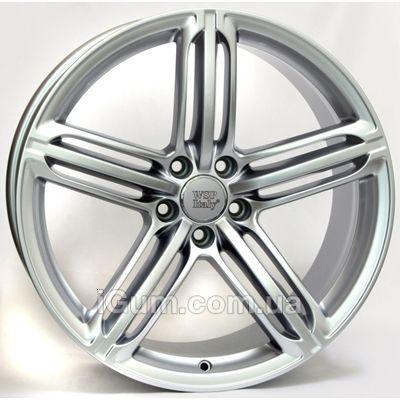 Диски WSP Italy Audi (W560) Pompei 8,5x19 5x112 ET32 DIA66,6 (silver)