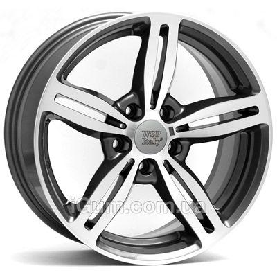 Диски WSP Italy BMW (W652) Agropoli 8x17 5x120 ET15 DIA74,1 (anthracite polished)