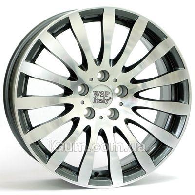 Диски WSP Italy BMW (W663) Glazgo 8x18 5x120 ET15 DIA72,6 (anthracite polished)