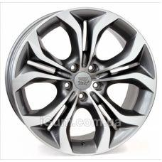Диски WSP Italy BMW (W674) Aura 9x19 5x120 ET37 DIA74,1 (anthracite polished)