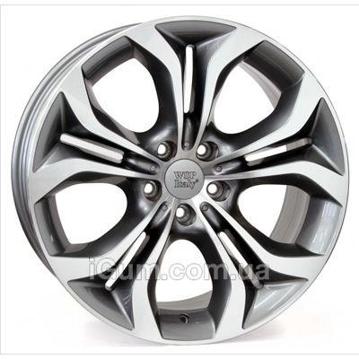 Диски WSP Italy BMW (W674) Aura 8,5x19 5x120 ET38 DIA72,6 (anthracite polished)