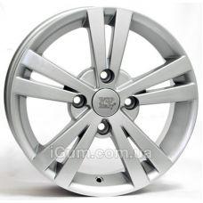 Диски WSP Italy Chevrolet (W3602) Tristano 6x15 4x100 ET44 DIA56,6 (silver)