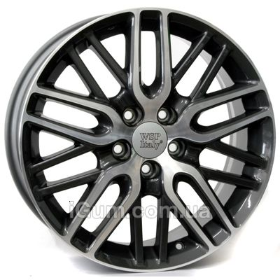 Диски WSP Italy Honda (W2408) Imperia 7x17 5x114,3 ET55 DIA64,1 (anthracite polished)