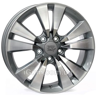 Диски WSP Italy Honda (W2409) Bolzano 7,5x17 5x114,3 ET55 DIA64,1 (anthracite polished)