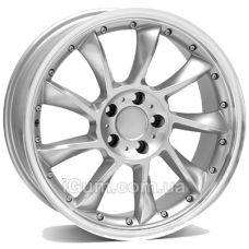 Диски WSP Italy Mercedes (W729) Madrid 9,5x18 5x112 ET35 DIA66,6 (silver polished lip)