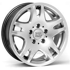 Диски WSP Italy Mercedes (W733) London 7x15 5x112 ET30 DIA66,6 (hyper silver)