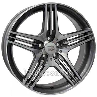 Диски WSP Italy Mercedes (W768) Stromboli 8x17 5x112 ET35 DIA66,6 (anthracite polished)