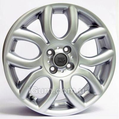Диски WSP Italy Mini (W1650) Elena 6x15 4x98 ET35 DIA58,1 (silver)