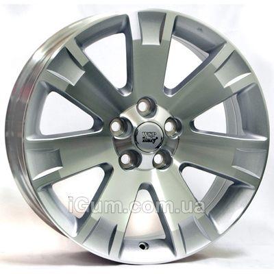 Диски WSP Italy Mitsubishi (W3004) Poseidone 8x19 5x114,3 ET38 DIA67,1 (silver polished)