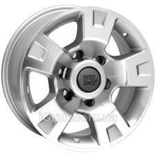 Диски WSP Italy Nissan (W1808) Salina 4x4 8x16 6x139,7 ET10 DIA110,1 (silver polished)