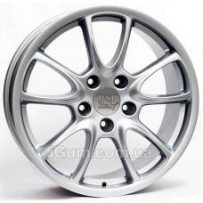 Шины WSP Italy Porsche (W1052) Corsair 12x19 5x130 ET51 DIA71,6 (silver)