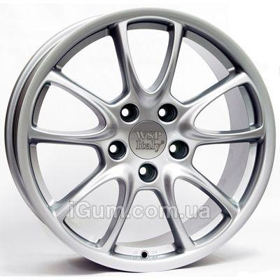Диски WSP Italy Porsche (W1052) Corsair 12x19 5x130 ET51 DIA71,6 (silver)
