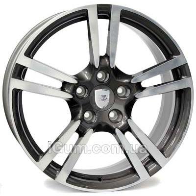Диски WSP Italy Porsche (W1054) Saturn 10x19 5x130 ET61 DIA71,6 (anthracite polished)