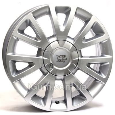 Диски WSP Italy Renault (W3303) Assen Clio 7x17 4x100 ET38 DIA60,1 (hyper silver)