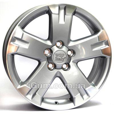 Диски WSP Italy Toyota (W1750) Catania 7x17 5x114,3 ET45 DIA60,1 (silver polished)