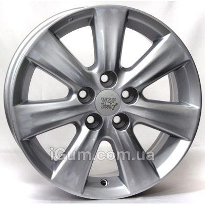 Диски WSP Italy Toyota (W1762) Nemuro 6x15 5x100 ET33 DIA54,1 (silver)