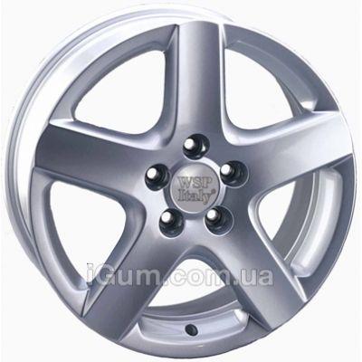 Диски WSP Italy Volkswagen (W436) Ravello 7x17 5x100 ET42 DIA57,1 (silver)