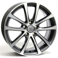 Диски WSP Italy Volkswagen (W454) Eos Riace 7,5x17 5x112 ET47 DIA57,1 (anthracite polished)