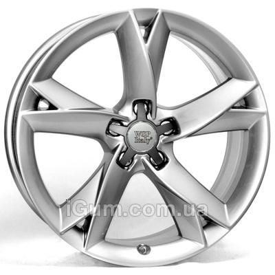 Диски WSP Italy Audi (W558) S5 Potenza 8,5x18 5x112 ET29 DIA66,6 (hyper silver)